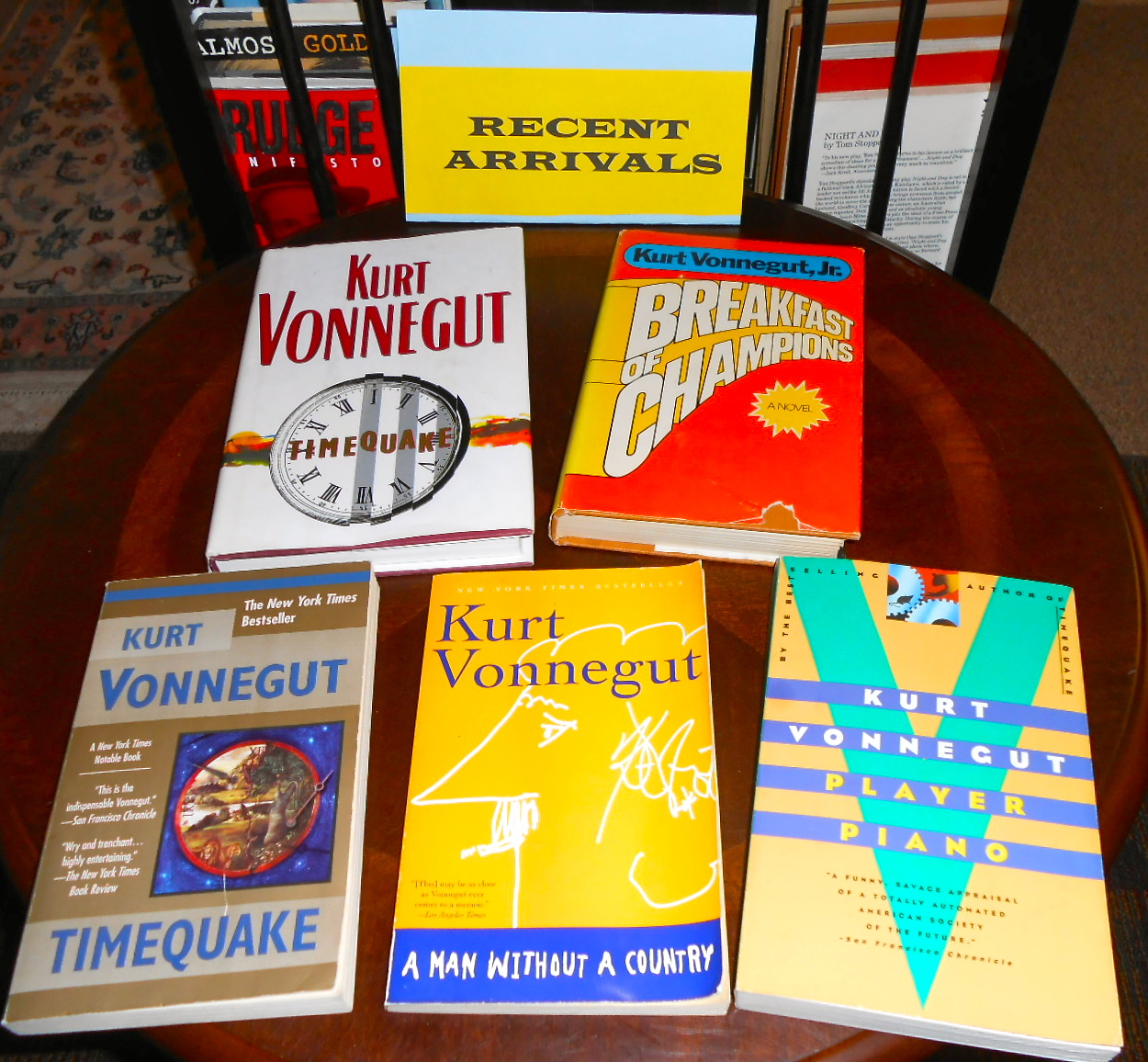 Kurt Vonnegut books